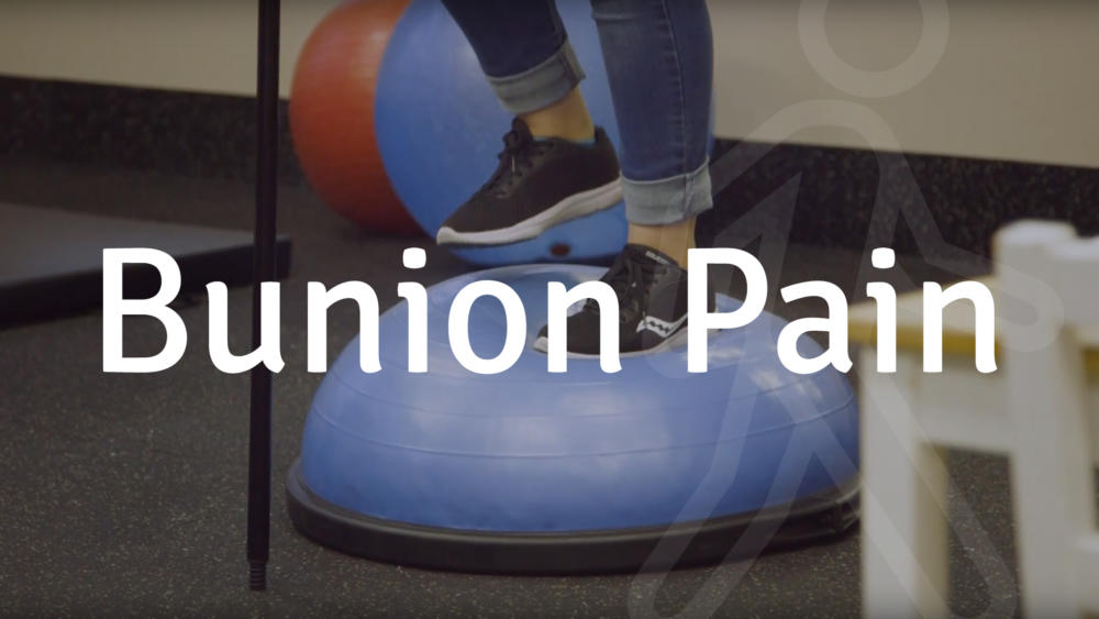 bunion pain services at walking mobility services