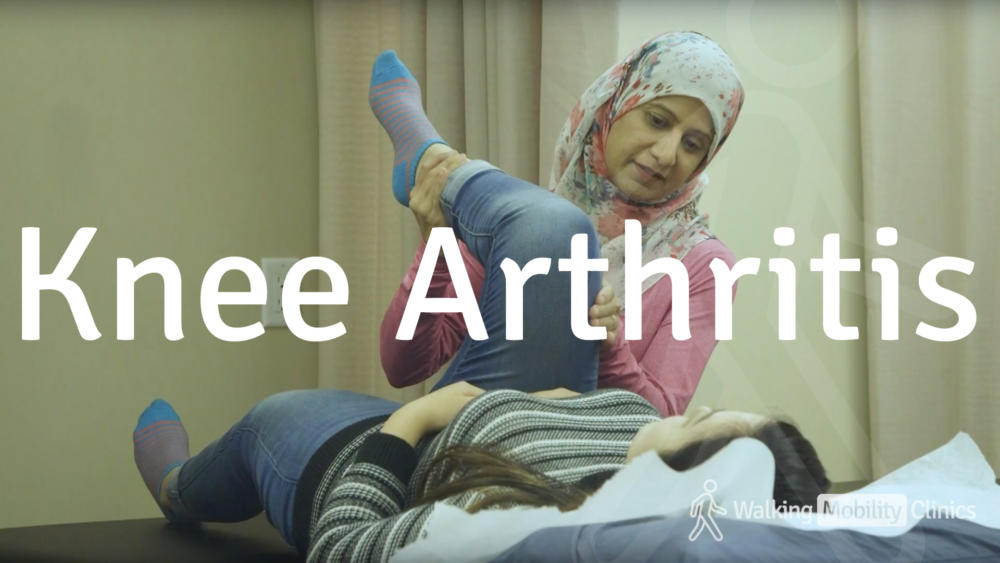 knee arthritus services at walking mobility clinic