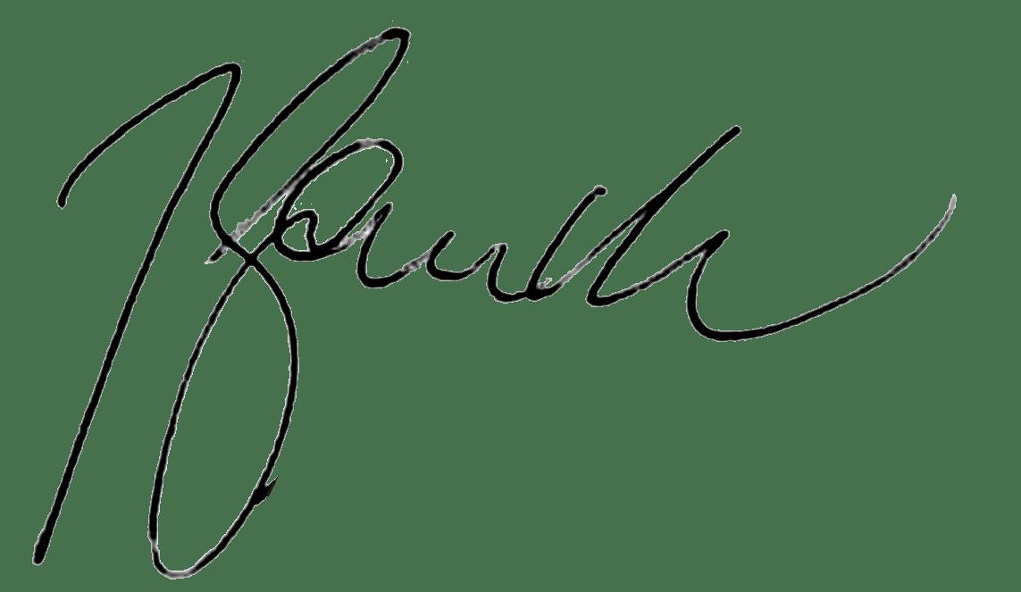 Joachim Gaucks signature