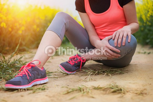 Injured knee treatment from Walking Mobility Clinics
