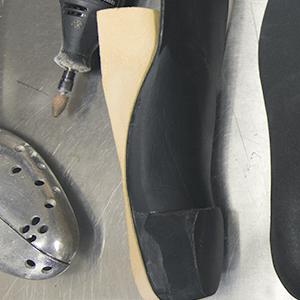 Custom shoe design at Walking Mobility Clinics
