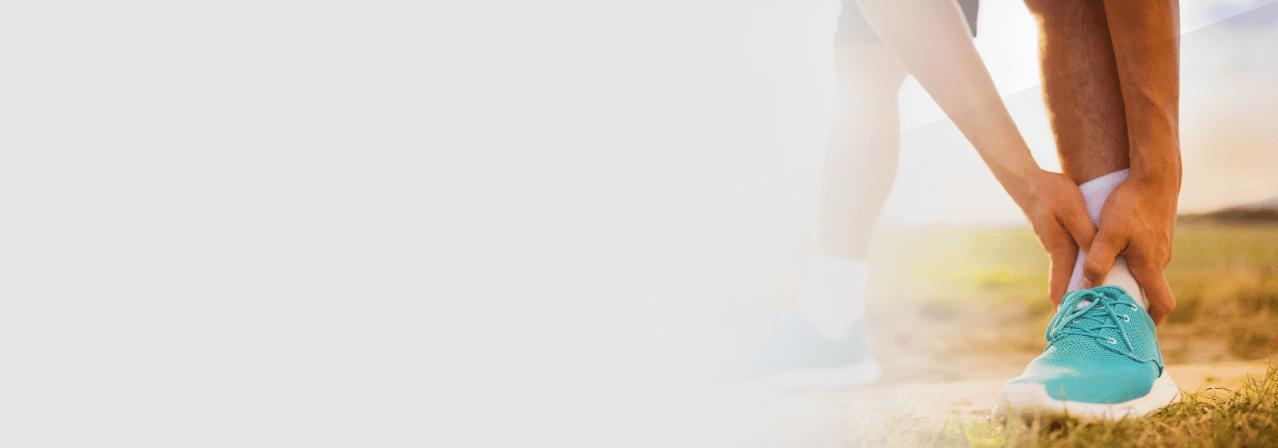 Ankle pain slider image