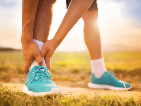 Ankle pain at Walking Mobility Clinics