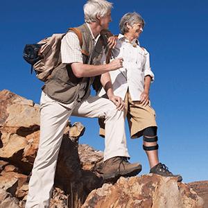 Arthris brace from Walking Mobility Clinics