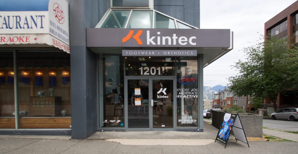 Kintec Storefront in Vancouver